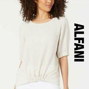 Alfani Cream Colored Blouse